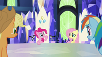 Pinkie -I think Sans Smirk's hooves- S9E14