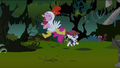 Pinkie Pie and Pipsqueak screaming S2E04.png