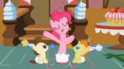 Pinkie Pie y Baby Cakes