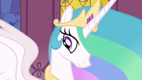 Princess Celestia being motherly S3E1
