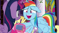 "Rainbow Dash ""everything's all ready!"" S9E17"
