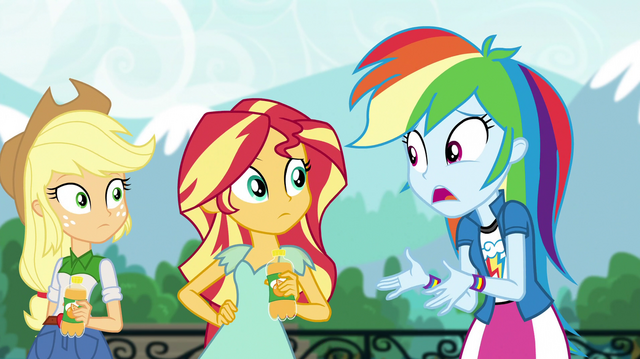 """File:Rainbow Dash """"we're running out of time!"""" EGS1.png"""
