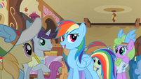 Rainbow Dash 'Spike here writes down everything' S2E08