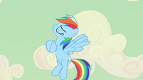 Rainbow Dash acting all sappy S2E14