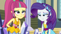 Rarity and Sour Sweet ashamed of themselves EGS1
