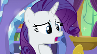 Rarity repeating what she said S9E19