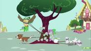 S03E11 Zwierzęta przywiązały Spike'a do drzewa