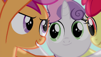 Scootaloo -they won't be able to laugh at us- S4E15