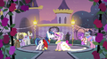 Shining Armor and Cadance about to dance S2E26.png