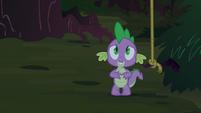 Spike's ears flop down S3E9