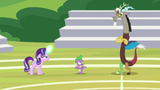 Spike siding with Starlight Glimmer S8E15