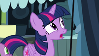 Twilight Sparkle -not since we told her- S8E18