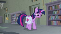 Twilight Sparkle putting herself down S9E5