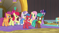 "Apple Bloom ""you were way more responsible"" S9E22"
