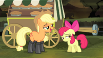 "Applejack ""I would totally trust you"" S4E17"