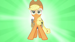Applejack ready to save the day S6E10