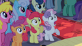 CMC gasping in crowd S2E11.png