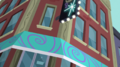 Canterlot diner exterior EGS1.png