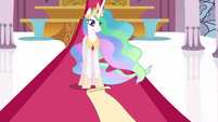 Celestia looks at scroll S3E01