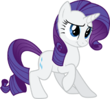 FANMADE Rarity vector by Quanno3