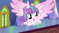 Flurry Heart looking behind her S7E3
