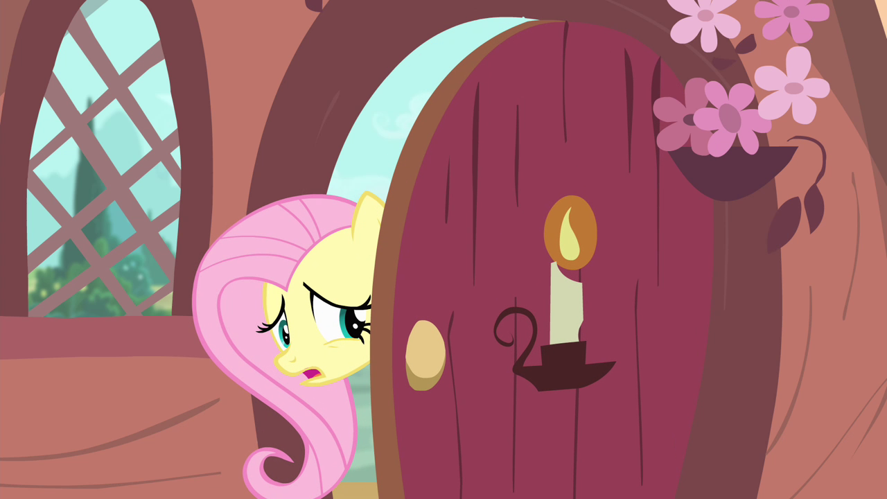 Fluttershy at the door S4E11.png & Image - Fluttershy at the door S4E11.png | My Little Pony Friendship ...
