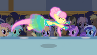 Fluttershy flying without wings S1E20