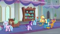Friendship students go separate ways to class S8E1