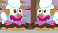 Giant clown-shaped ice cream sundaes S7E6.png