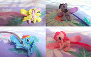 Hairclips with tails