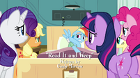 Main 5 surrounding Rainbow Dash's hospital bed S2E16