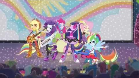 My Little Pony Equestria Girls - Rainbow Rocks EXCLUSIVE Movie Clip