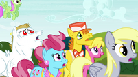 Ponyville residents in surprise S4E26