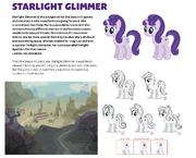 Projekty Starlight Glimmer z książki Art of Equestria