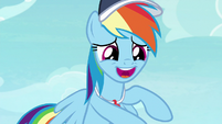 """Rainbow """"I care about cheer squad"""" S9E15"""
