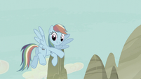 "Rainbow Dash ""come on!"" S5E2"
