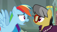 "Rainbow Dash ""quitting and moving away"" S7E18"