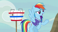 Rainbow Dash --don't worry about it-- S6E18