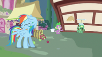 Rainbow Dash can't look S3E11