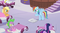 Rainbow Dash does not want a hooficure S2E23