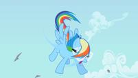 Rainbow Dash shaking S2E03