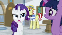 "Rarity ""take off that ridiculous beard"" S8E16"
