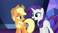Rarity --you're allowed to feel a little jealous-- S5E22