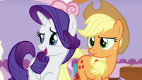 Rarity suggests calling it a day S7E9