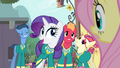 Rarity talking about Ponytones' next gig S4E14.png