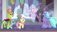 Silverstream acting cool S8E1