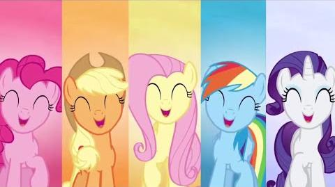 Spanish My Little Pony Make This Castle A Home HD