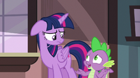 """Spike """"at least you won't have to worry"""" S6E22"""