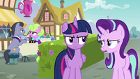 "Starlight Glimmer ""chat with these two"" S7E14"