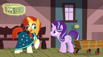 "Sunburst ""I've been looking forward to this visit"" S7E24"